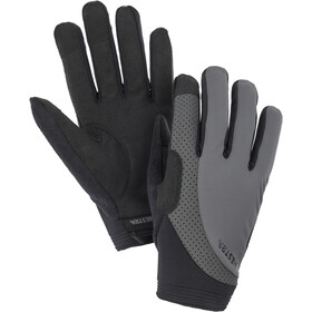 Hestra Apex Reflective Long Finger Gloves dark grey